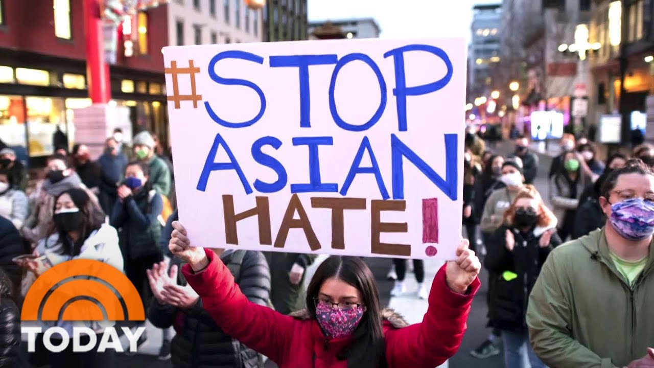 Reaction To Atlanta Shootings Spotlights Growing Violence Against Asian Americans   TODAY