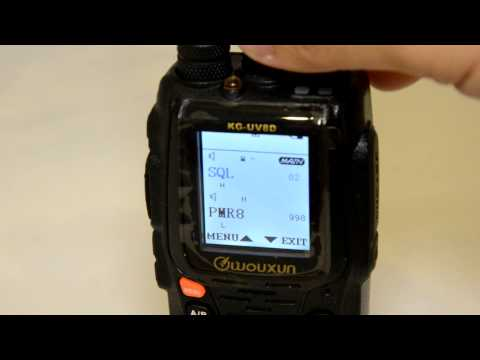Wouxun KG UV8D Dual Band Radio Review (UV6D upgrade)