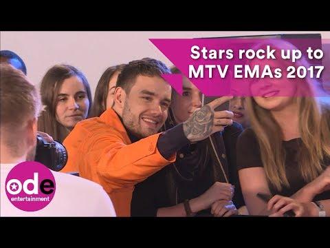 MTV EMAs 2017: Stars rock up to London