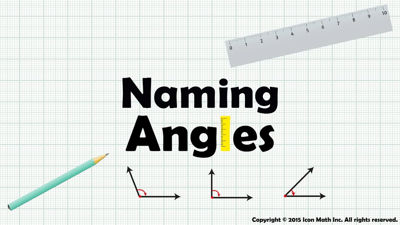 hight resolution of Naming Angles (examples