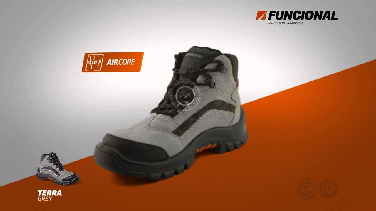Locutor sebasti n pulcini zapatos de seguridad funcional - Calzados de seguridad ...