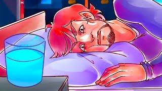 Не оставляйте воду рядом с кроватью во время сна