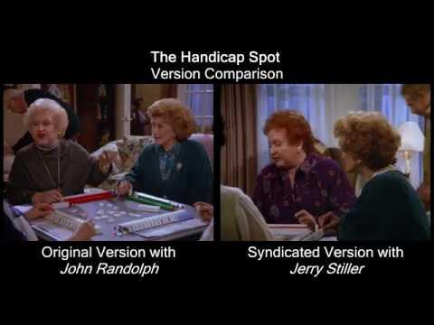 Seinfeld - The Handicap Spot: John Randolph vs Jerry Stiller, side by side