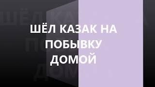 РАЗБОР на баяне  ШЁЛ КАЗАК НА ПОБЫВКУ ДОМОЙ (COVER)