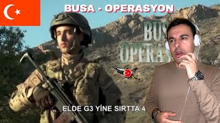 ITALIAN REACTION TO 🇹🇷 BUSA - OPERASYON (Video)