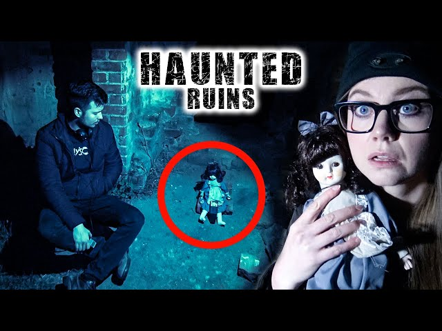 This was INTENSE!   Paranormal Activity at Haunted Ruins   Anstey Hill