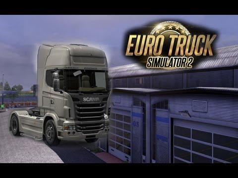 Euro truck 2 - Nova Garagem e Novo caminhão!