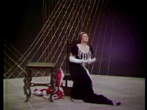 Joan Sutherland sings TOSCA Vissi d'arte