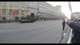 4 мая репетиция парада победы (Т-90 и T-14 Армата) 4k