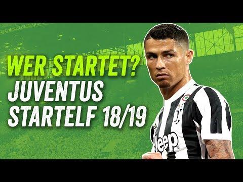 Wer spielt neben Cristiano Ronaldo? Juventus potenzielle Startelf Saison 2018/19!