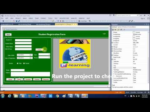 How to save record in database with combobox,radio button,picture,timer all