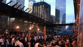 9/11 Memorial Ceremony- Moment of Silence-Amazing Grace Bagpipes