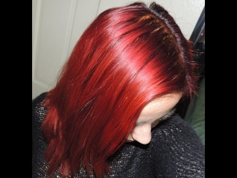 Review The Henna Guys Hair Color In Deep Red Youtube