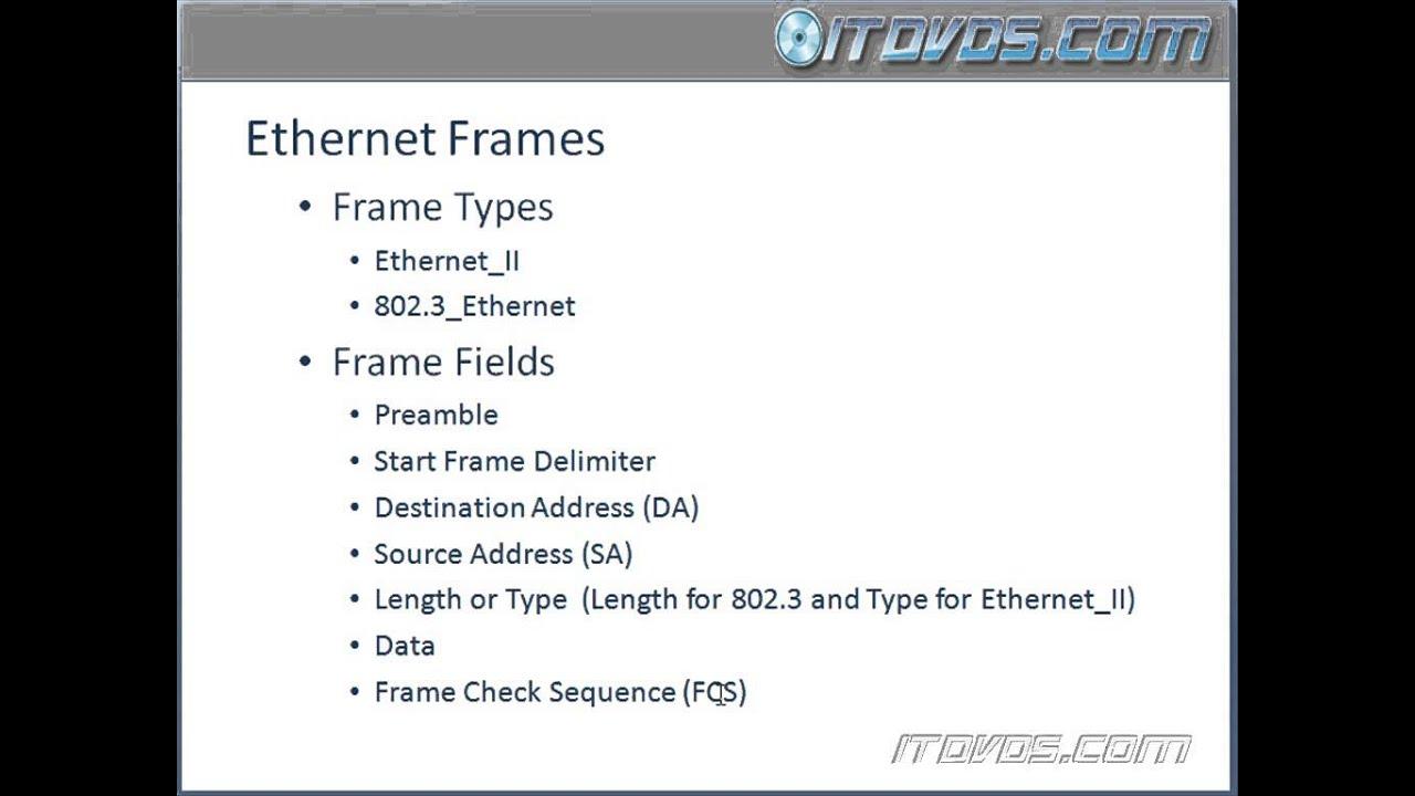 200 120 ccna training ethernet frames - Ethernet Frames