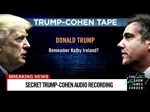 James Corden vs. We Got Trump-Cohen Tapes You Haven't Heard Yet!