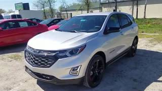 2018 Chevy Equinox LT REDLINE EDITION - Silver Ice Metallic - FULL REVIEW