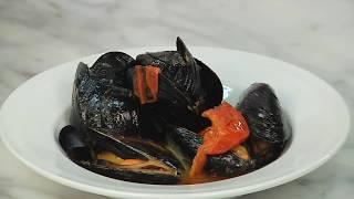 Tutorial: Köstliche Muscheln in Weißweinsauce