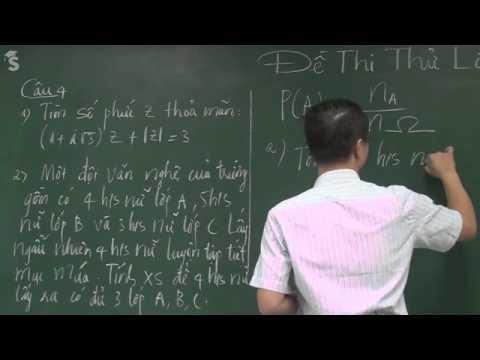 Đề thi thử THPT Quốc Gia – Đề thi thử ĐH môn toán , Đề 1 – năm 2015