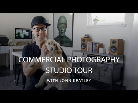 John Keatley Commercial Photographer Studio Tour | CreativeLive