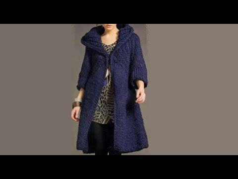 Пальто схема вязания крючком