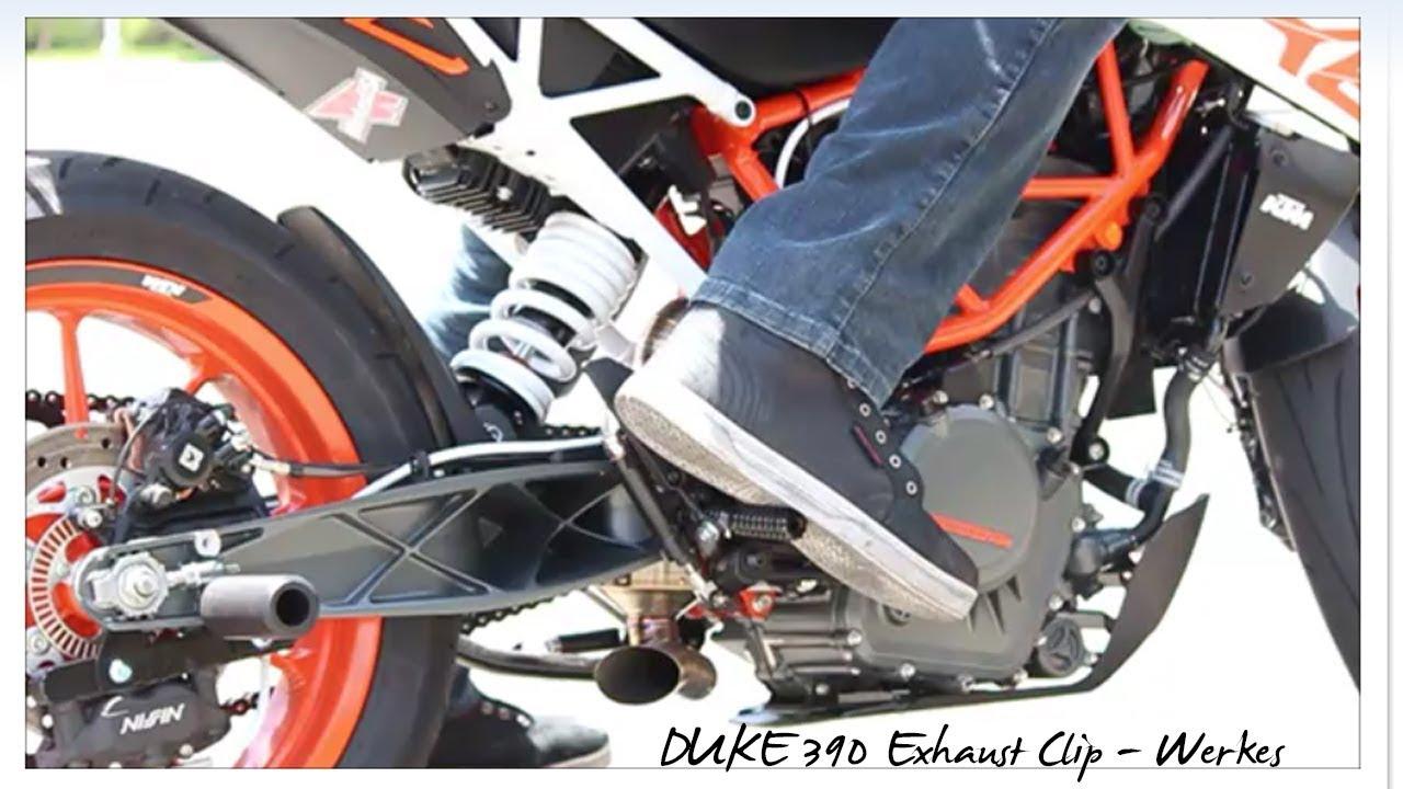 duke 390 exhaust sound competition werkes