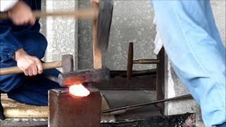 getlinkyoutube.com-sword making - fabrication de katana, seki