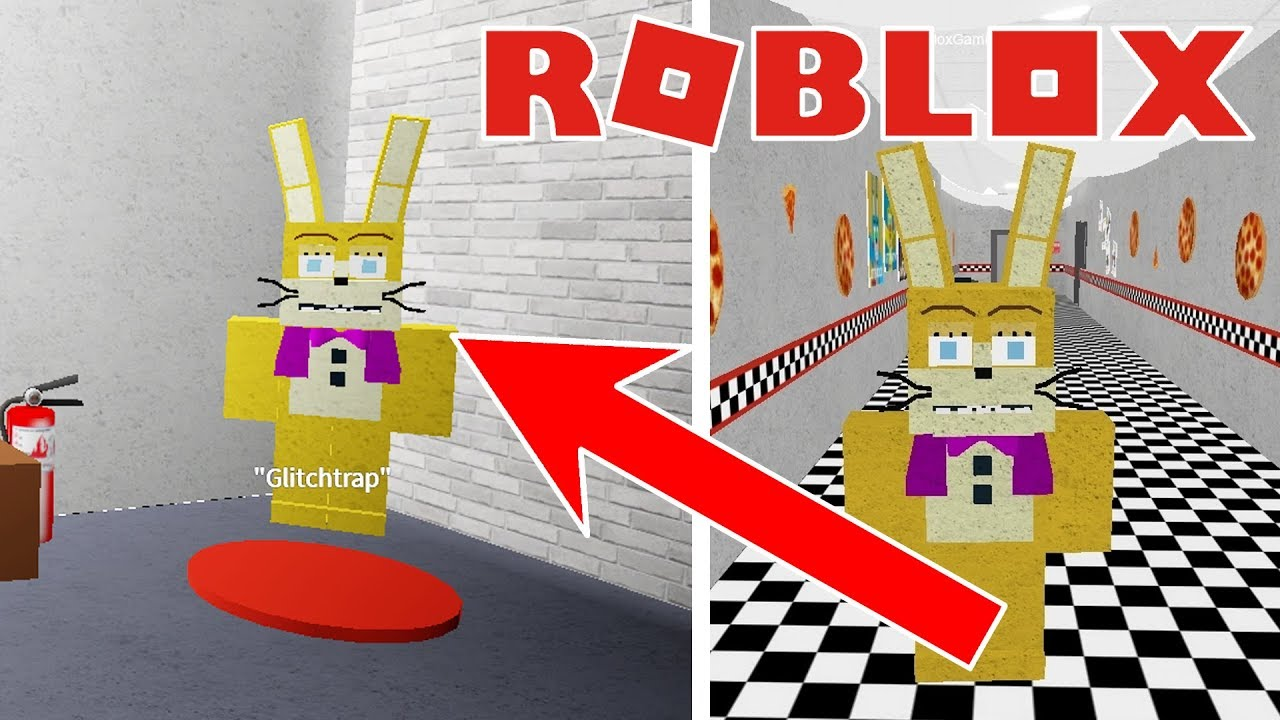 Roblox Fnaf Update Where To Find Glitchtrap Morph In Animatronic