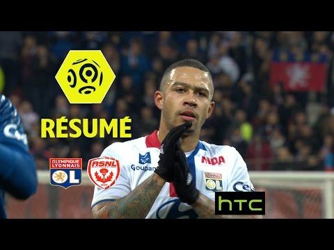 Olympique Lyonnais - AS Nancy Lorraine (4-0)  - Résumé - (OL - ASNL) / 2016-17