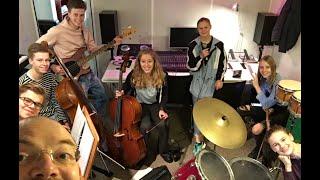 Gooi TV   Bandcoaching bij De Nieuwe Muziekschool in Bussum