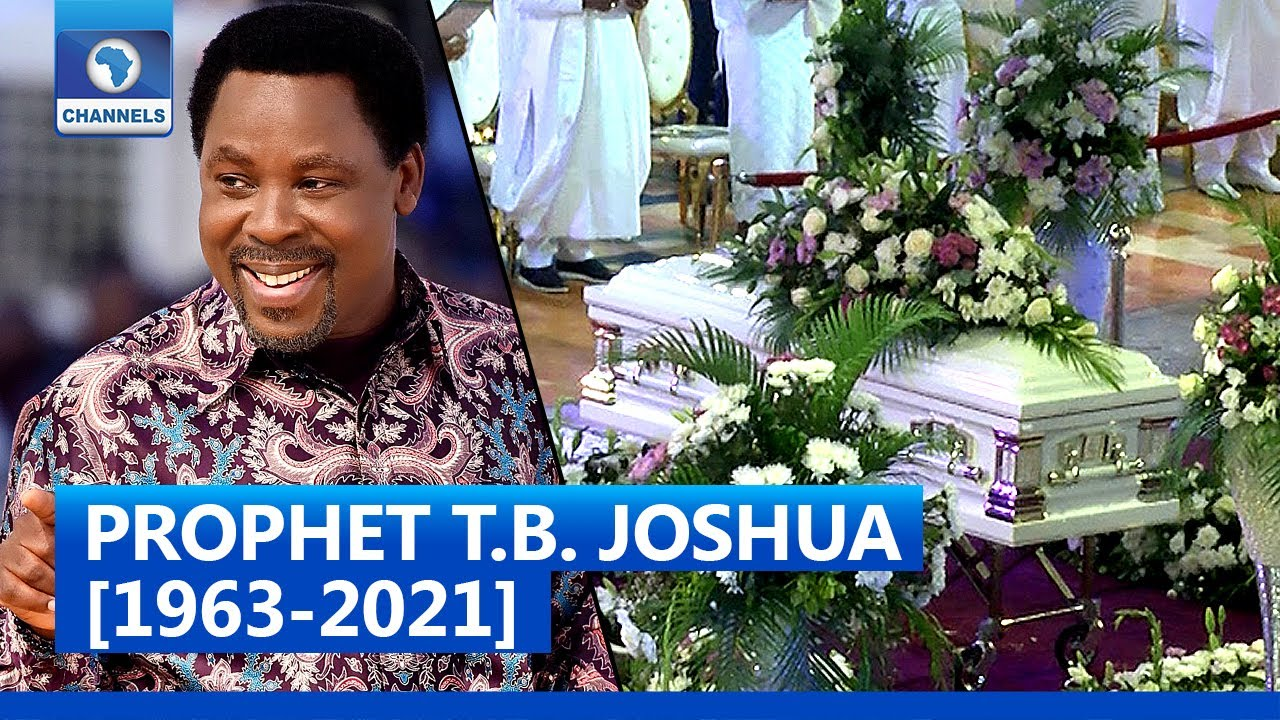 Download [FULL VIDEO] Prophet T.B. Joshua Buried Amid Tears And Tributes