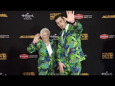 Ross Smith & Granny 2019 Movieguide Awards Red Carpet