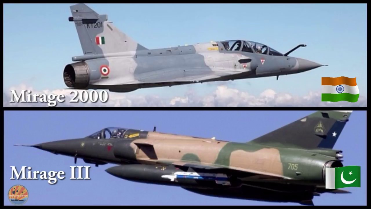 Indian Air Force Fighter Aircrafts Vs Pakistani Air Force Fighter Aircrafts
