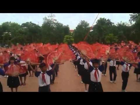 Múa dân vũ, hát chèo - Trường Tiểu học An Bài, Quỳnh Phụ, Thái Bình