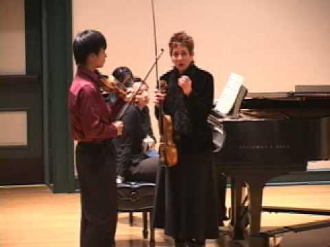 Mimi Zweig on origins of vibrato