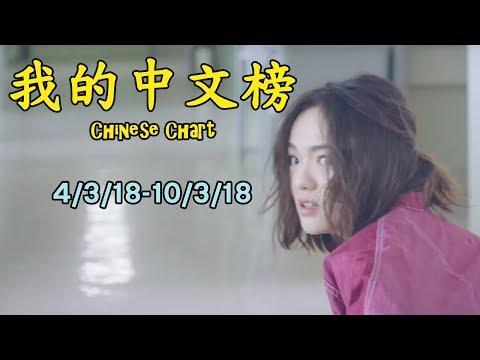 我的中文榜二十大 My Chinese Chart Top 20 Songs (4/3/18-10/3/18)