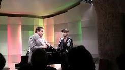 Das traditionelle Künstlergespräch mit KS Micheal Schade - Moderation Barbara Moser