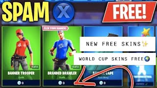 "HOW to GET ""BANNER BRIGADE"" SKINS for FREE! *WORKING* NEW Free Skins Item Shop GLITCH in Fortnite!"