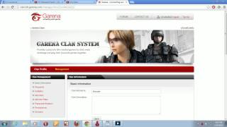 How to create garena clan and clan mark