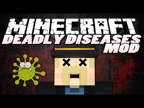 Minecraft Mods | DEADLY DISEASES | Minecraft Mod Showcase