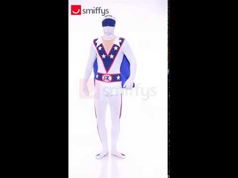 Adult Evel Knievel Second Skin Costume (26957)