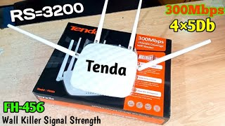 Tenda FH-456 Wall Killer Signal Strength Router LunchesLatest 2020 Unboxing Review