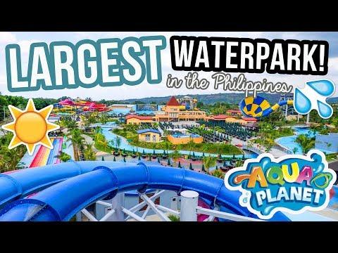 LARGEST WATERPARK IN ASIA?! (Aqua Planet, Clark, Pampanga) | Arj Barcelona