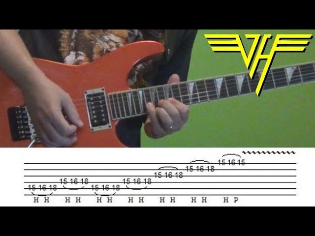 Eddie Van Halen Jump Solo Youtube