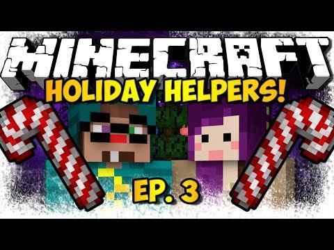 """""""IGLOO PRESENTS!"""" Minecraft Holiday Helpers Ep. 3 (HD)"""