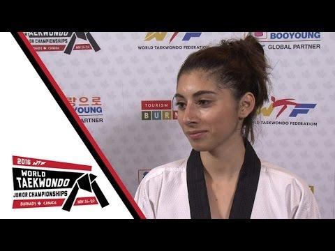 [INTERVIEW] SILVER | CALDERON Maria (CRC, Female -44kg)