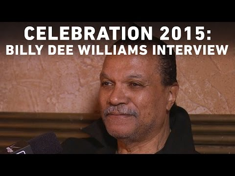 Billy Dee Williams  with StarWars.com  Star Wars Celebration Anaheim