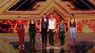 The X Factor UK 2018 Livia & The Elementals Auditions Full Clip S15E01