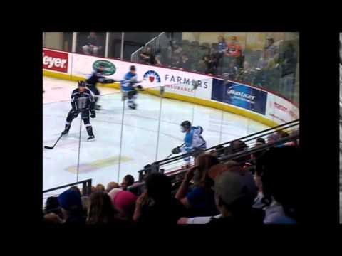 Von Ungern-Sternberg Goal Wenatchee Wild NAHL