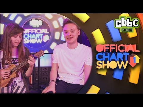 Conor Maynard R U Crazy live with Dodie Clark - CBBC's Official Chart Show