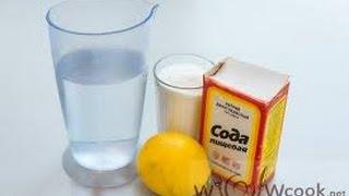 Как сделать шипучку из лимонной кислоты , соды и сахара